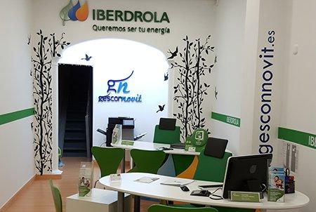 Gestion energ tica iberdrola por gesconnovit for Oficina iberdrola