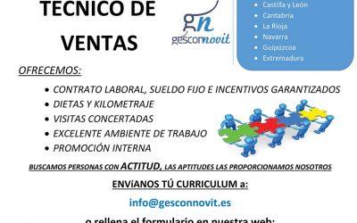 Oferta de Empleo, agente comercial